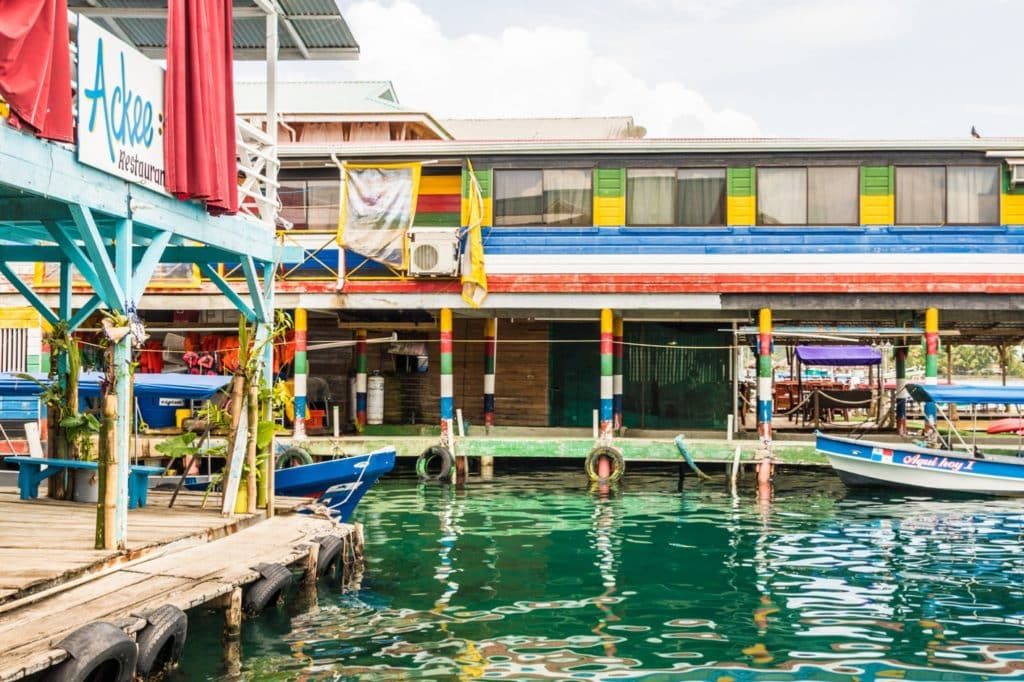 Bocas del Toro dock