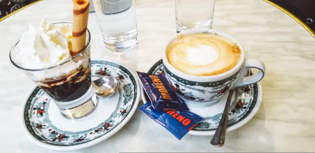 Caffe Granbinus, Naples, Italy