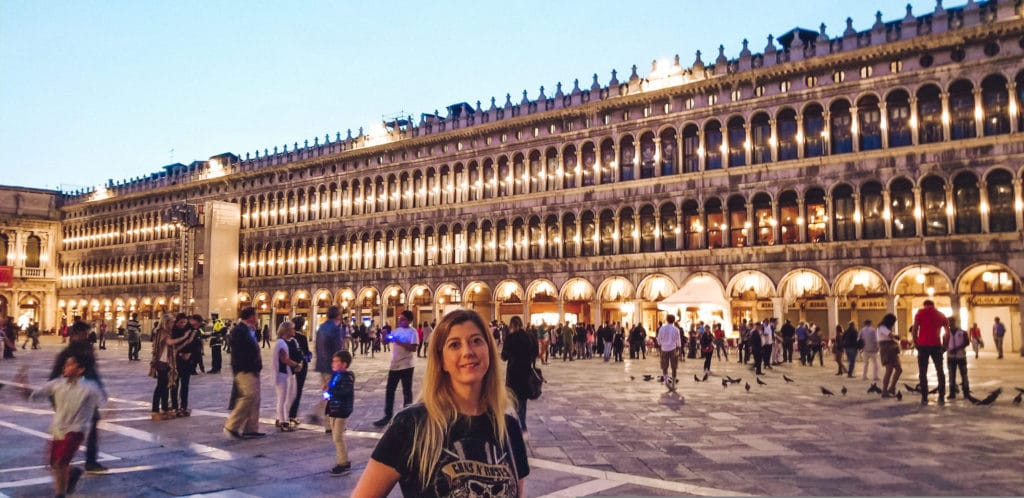 Venice in a day at Piazza San Marco