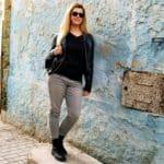 Eden Fite in the Medina in Essaouira