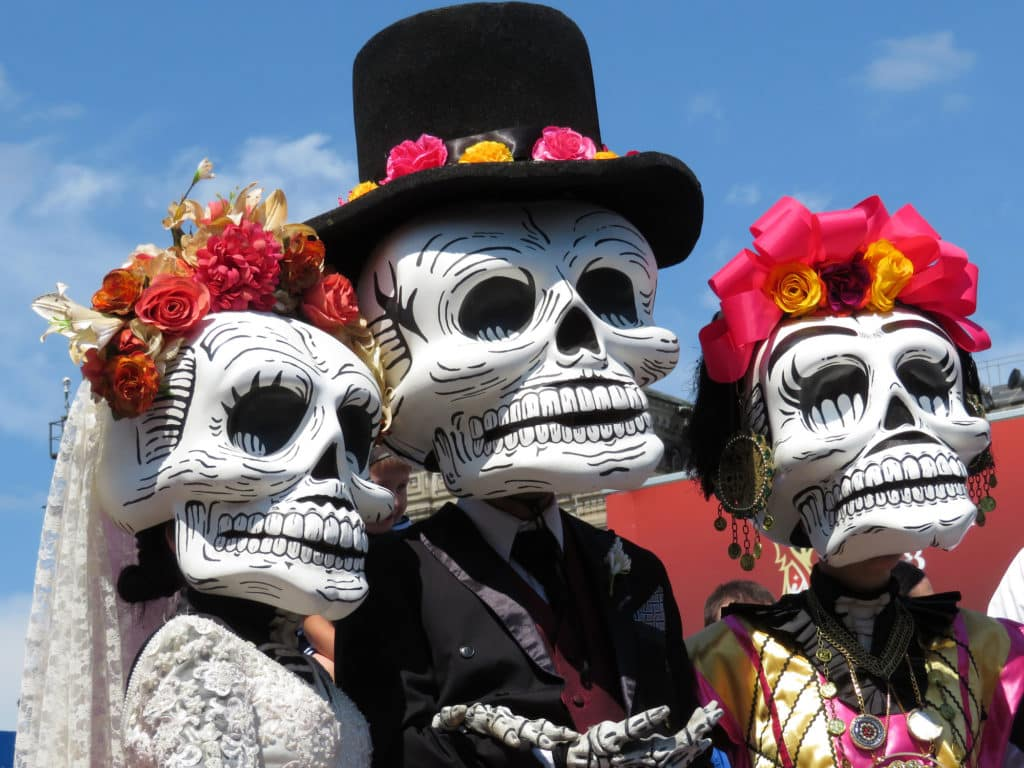 Tips for the mexico city day of the dead parade
