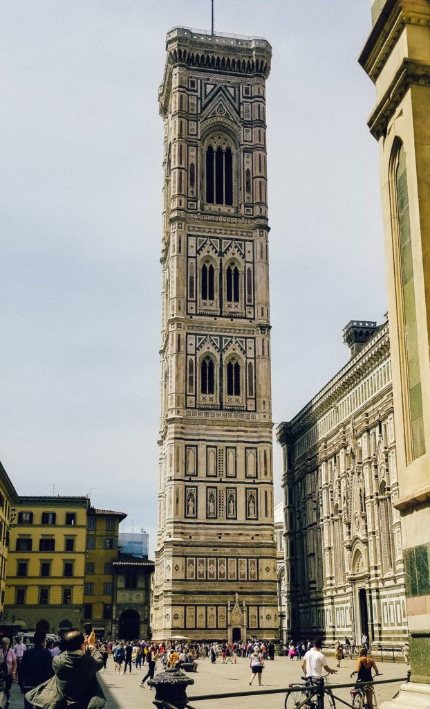 Florence Itinerary - Giott[s Campanile
