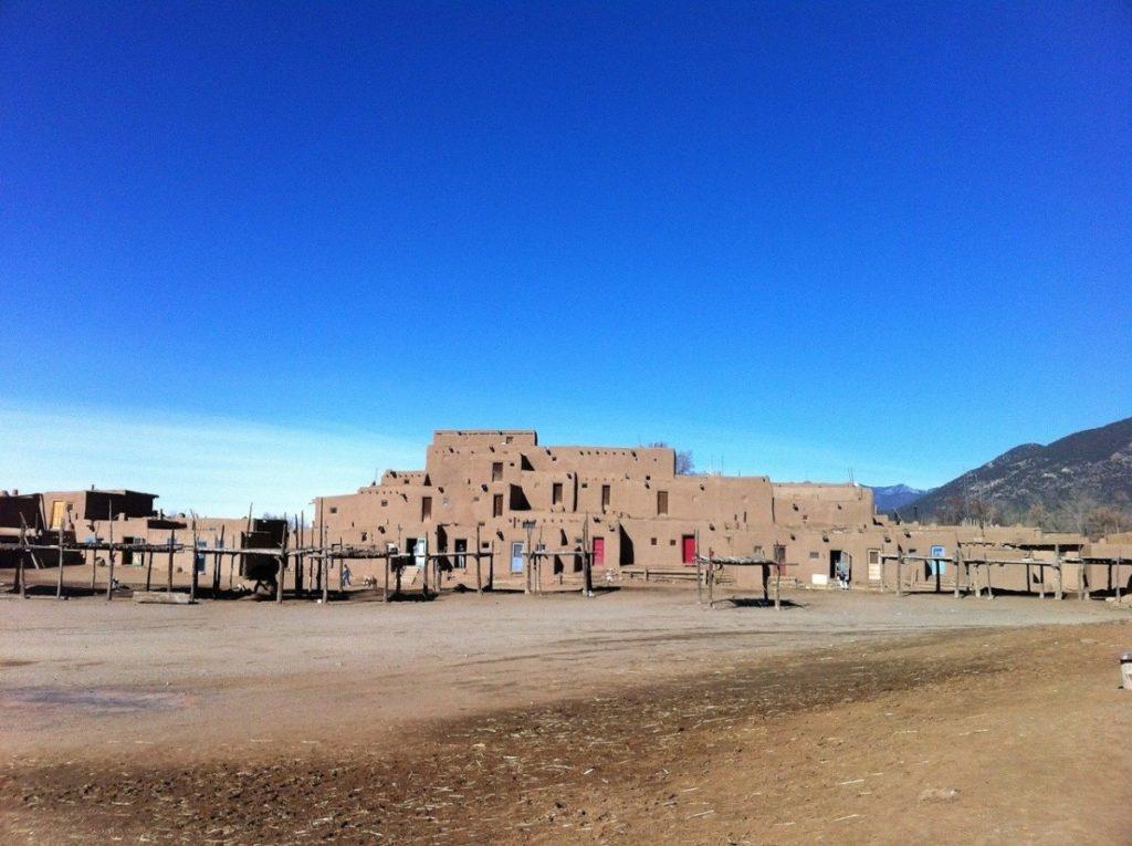 Pueblo at Taos, New Mexico