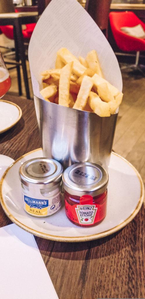 Fries in Belgium