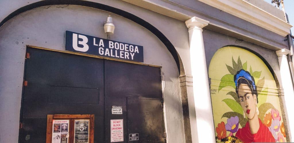 La Bodega Galllery in Barrio Logan San Diego