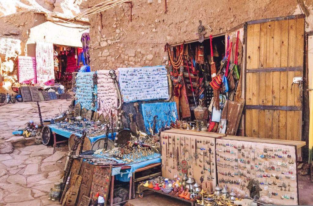 Shops at Ait Ben Haddou
