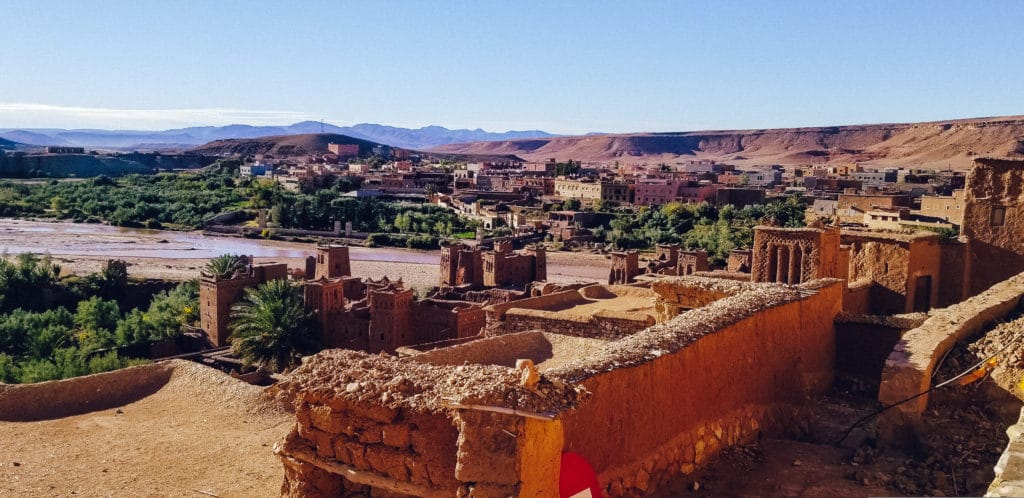 dwellings at Ait ben Haddou Morocco
