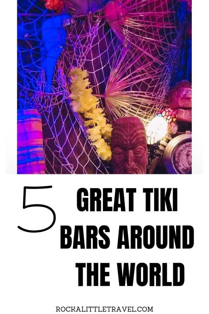 Great tiki bars around the world