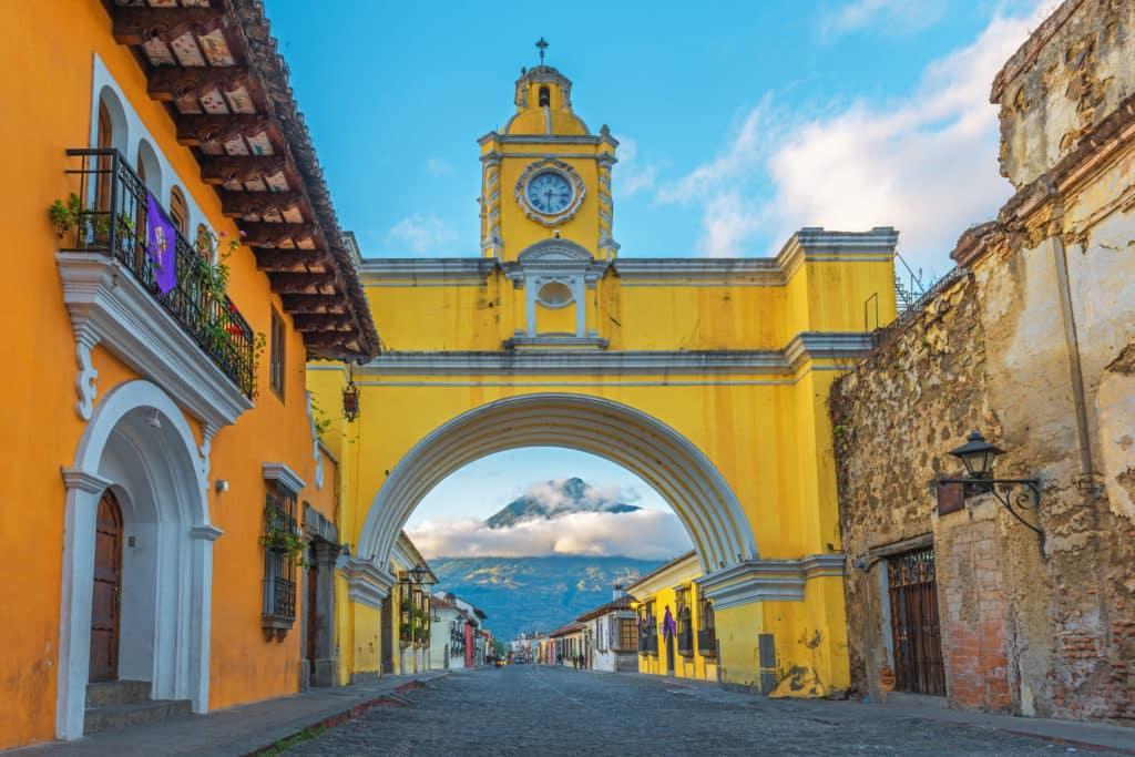 Arch in Antigua, Guatemala