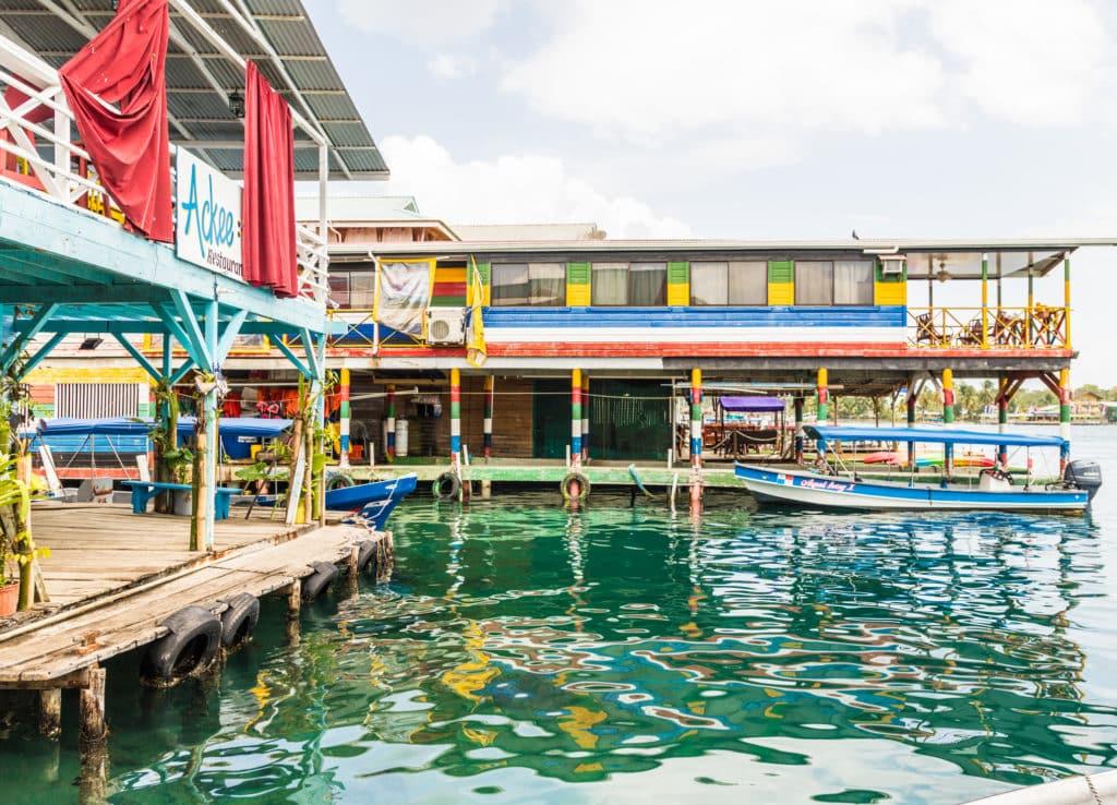 Bocas Town dock