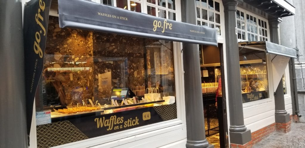 Go Fre Waffles Bruges