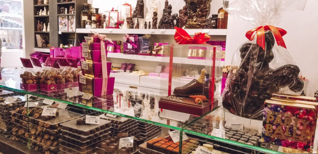 The Chocolate line - Things to do in Bruges