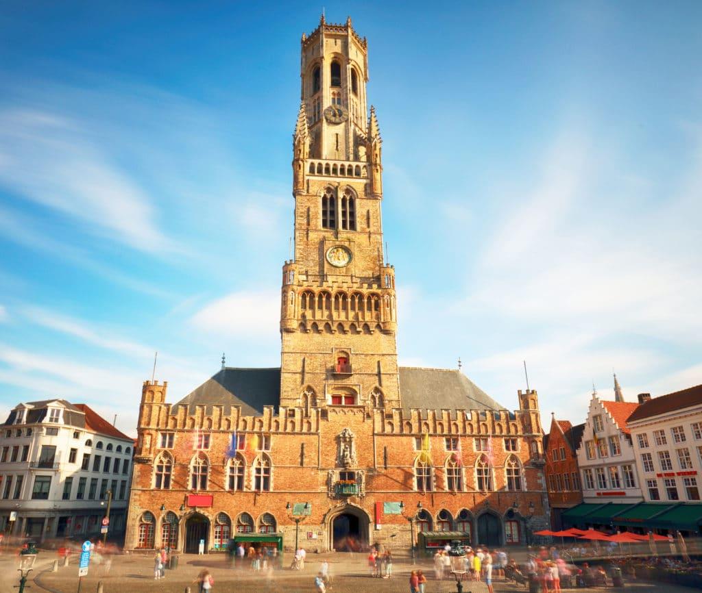 The Belfry Tower of Bruges, or Belfort, Belgium