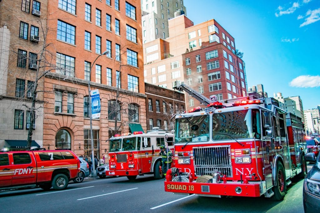 NYC fire trucks