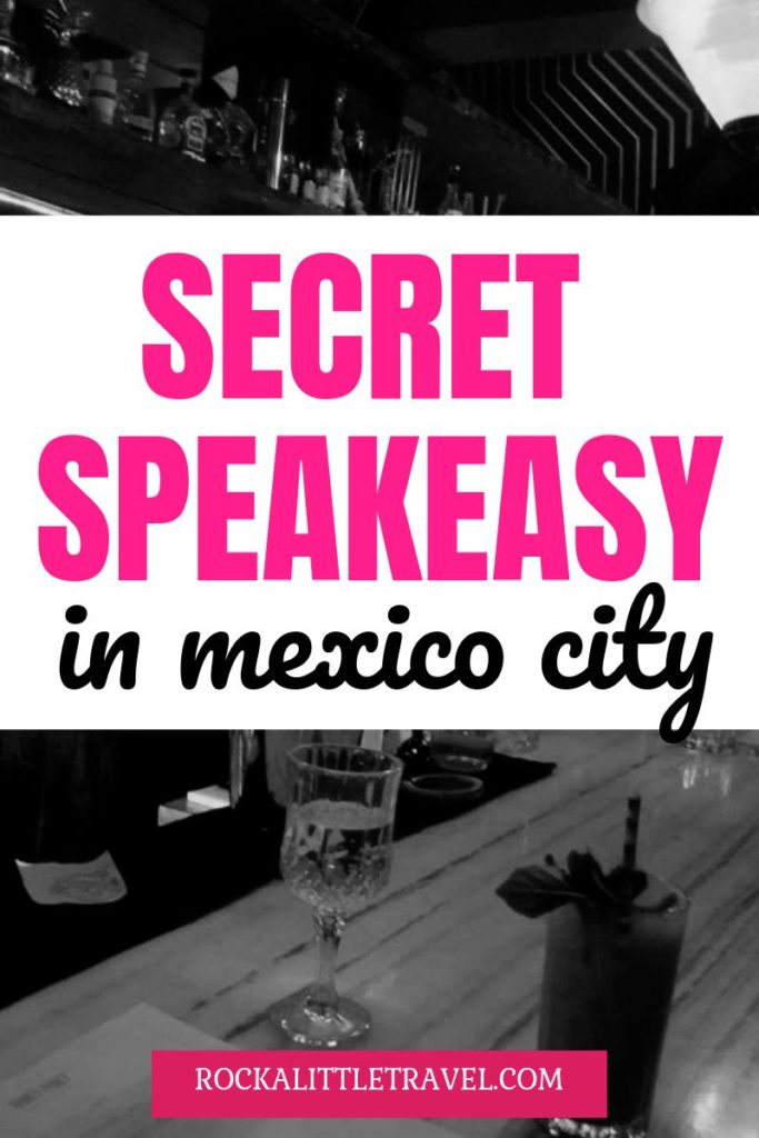 Hanky Panky Mexico City - A Secret Speakeasy Pinterest pin