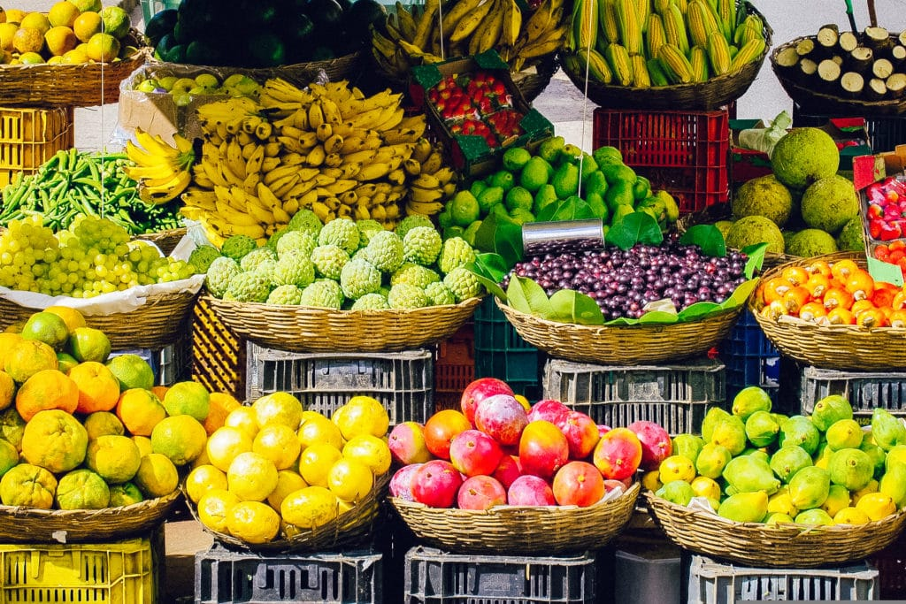 Cosimato Food Market, Trastevere, Rome, Italy
