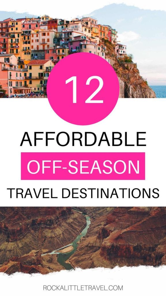 affordabler off season travel destinations