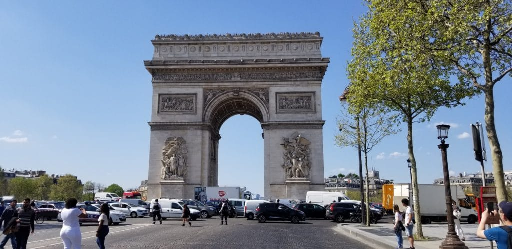 12 Hours in Paris at Arc de Triomphe Paris