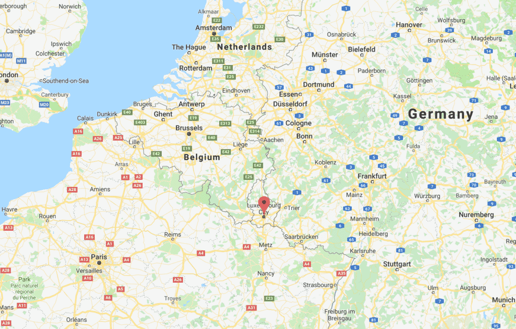 Where is Luxembourg City?
