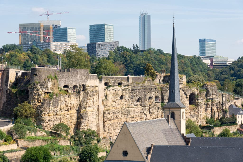 One day in Luxembourg City - Casemates du Bock