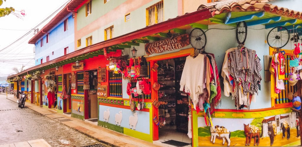 Shops of Guatape