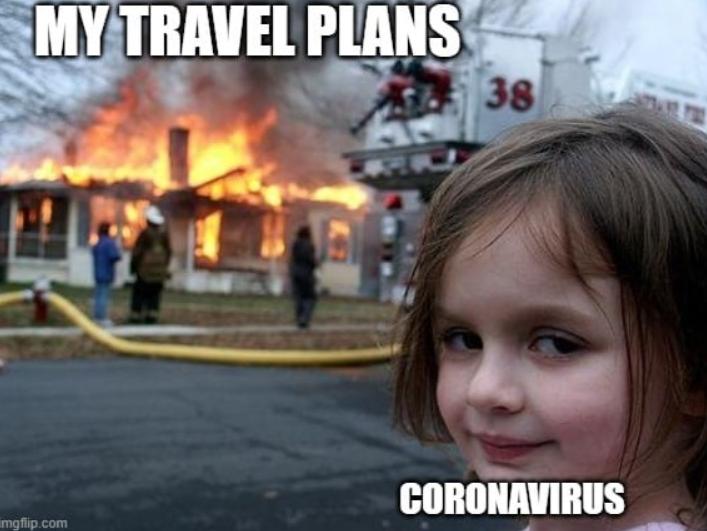Travel Memes Covid