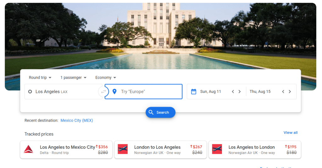 Tips for finding cheap flights on Google Flights
