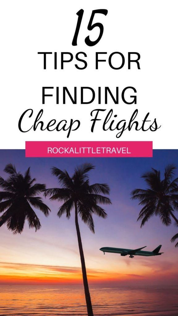 Tips for finding cheap flights