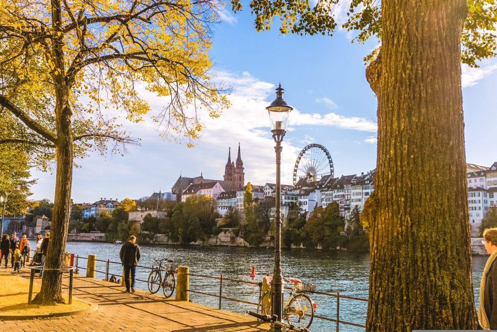 River in Basel, Switzerland