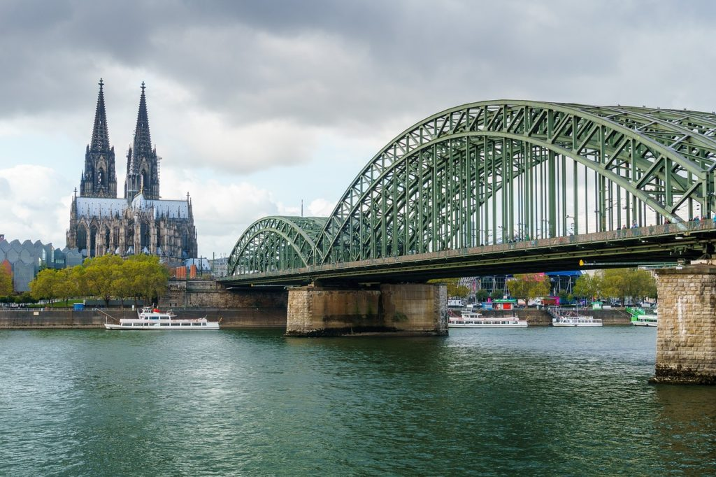 Bridge in Cologne, Germany