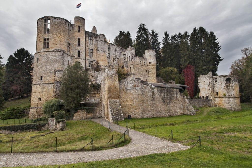 Castle in Beaufort, Luxembourg