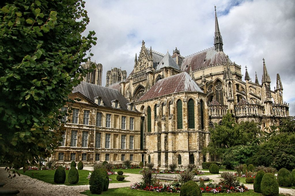 Day trips from Luxembourg - Cathedral in Reims, France