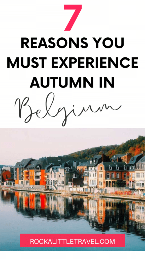 Reasons to experience autumn in Belgium