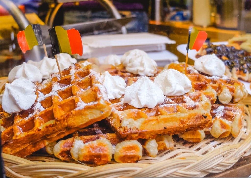 Belgian waffles, Brussels, Belgium