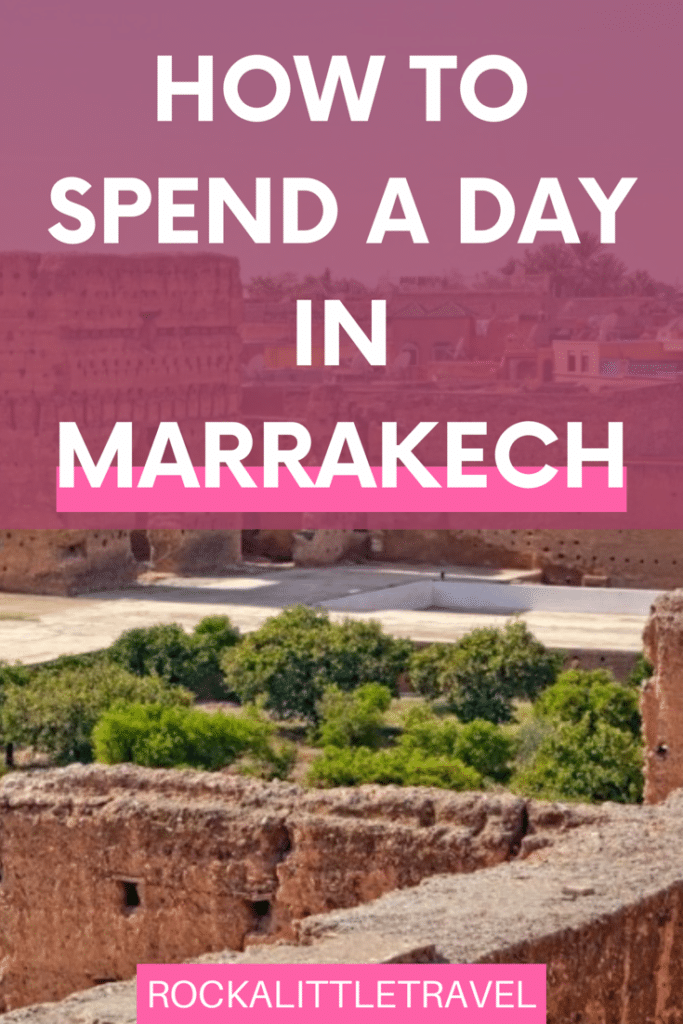 One day in Marrakech