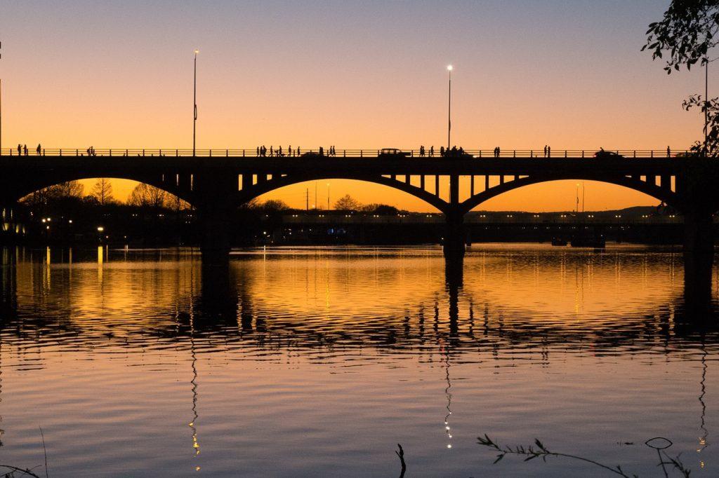 Congress Bridge, Austin, Texas