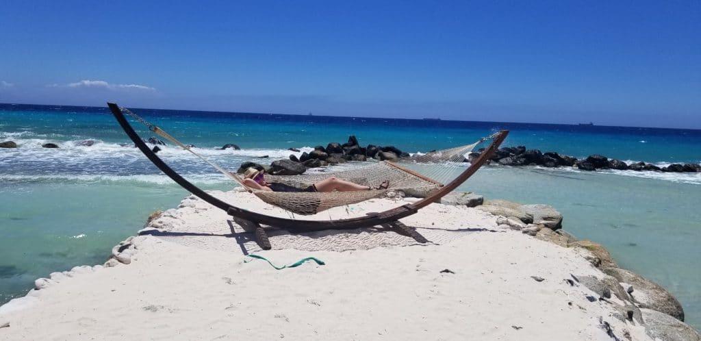 Hammock on Renaissance Island, Aruba