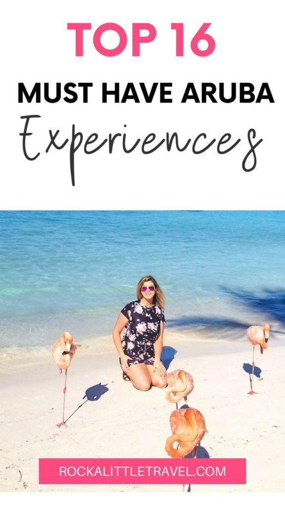 Aruba Experiences, Pinterest Pin