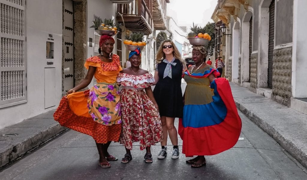 Fruit ladies, Cartagena
