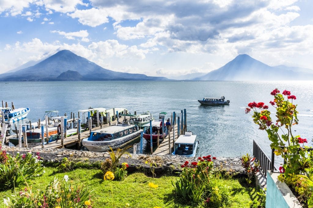 Dock at Lake Atitlan