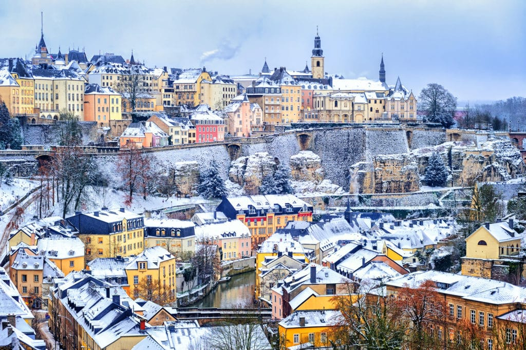 Winter in Luxembourg