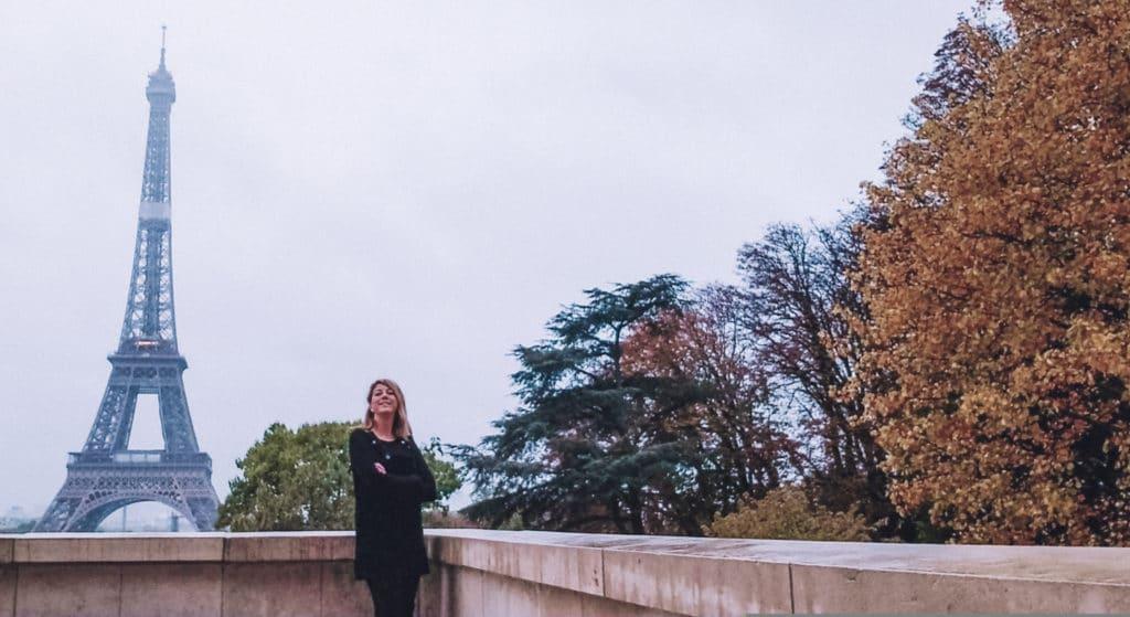 instagrammable spots in Paris - the Trocadero