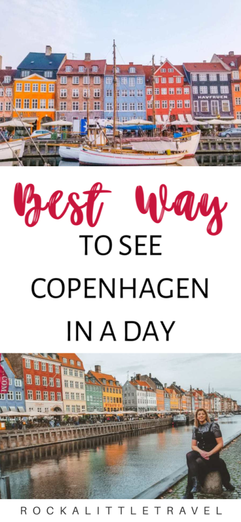 Copenhagen in a Day Pinterest Pin