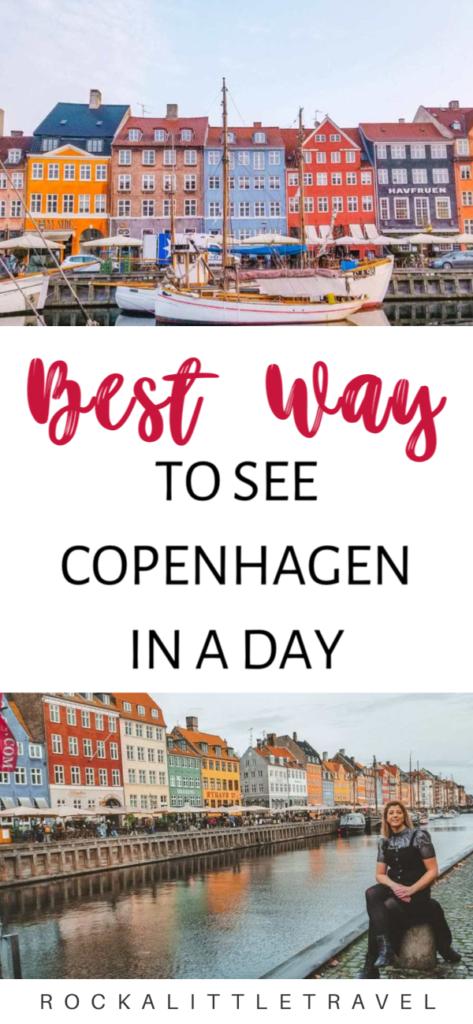 Copenhagen in a Day Pinterest Pin