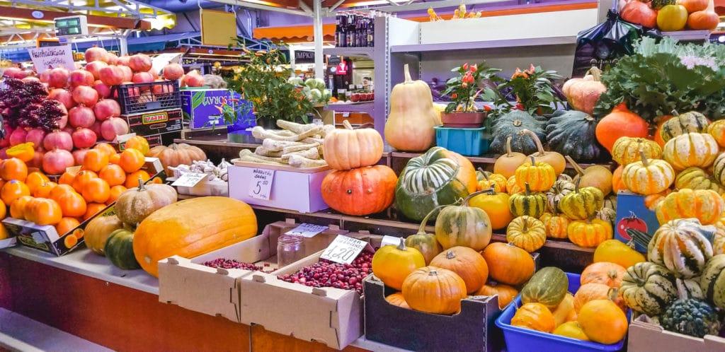 Fruit at Riga Central Market