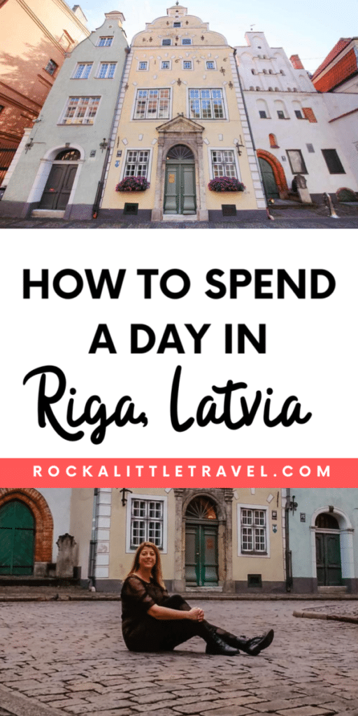 One day in Riga Pinterest Pin