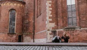 Armadillo in Riga, Latvia