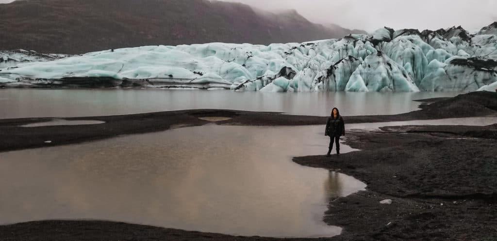 Glacier in Iceland