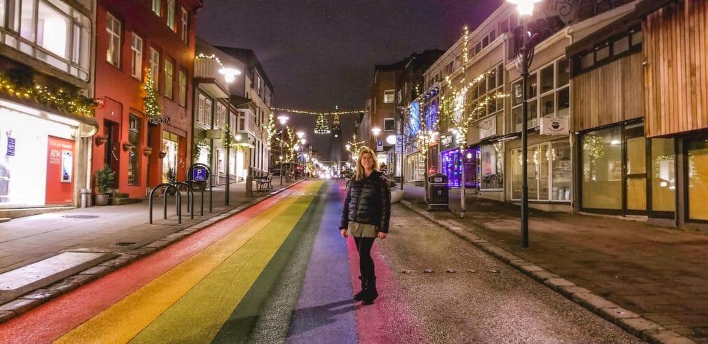Slolavordustigor Street in Iceland