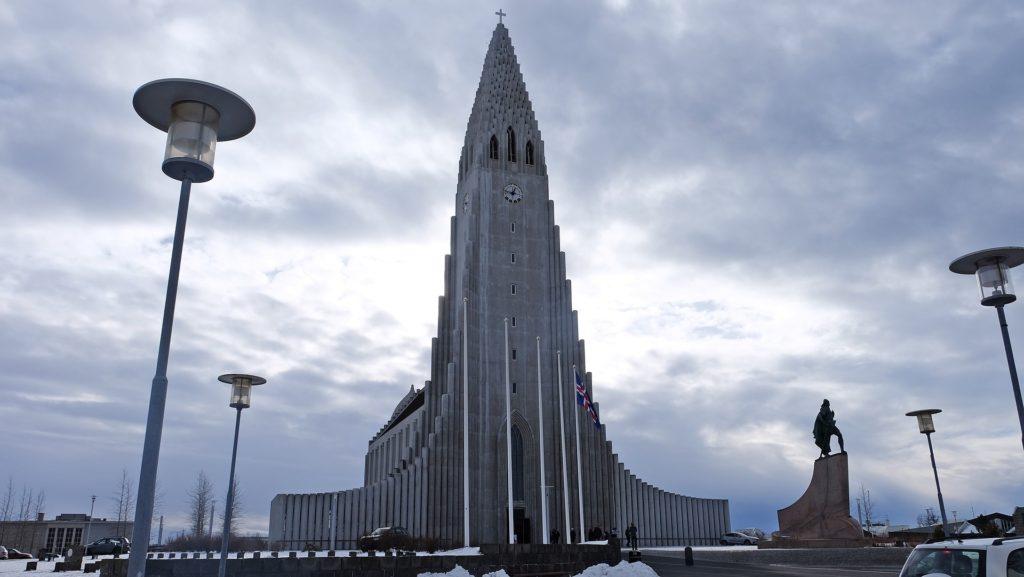hallgrimskirkja church in Iceland